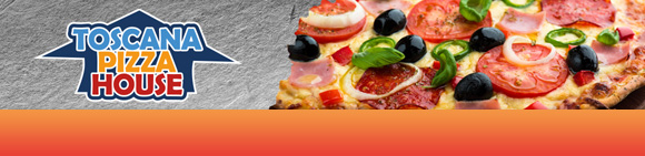 Toscana Pizza House Bundbanner